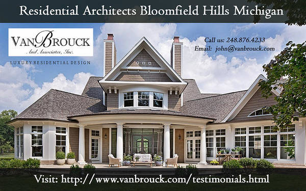 Mi Mixed Media - Professional Residential Architects By Vanbrouck by Gloria Carver