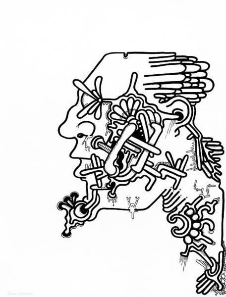 Yourself Drawing - Profil  by Nizar Ajanovic