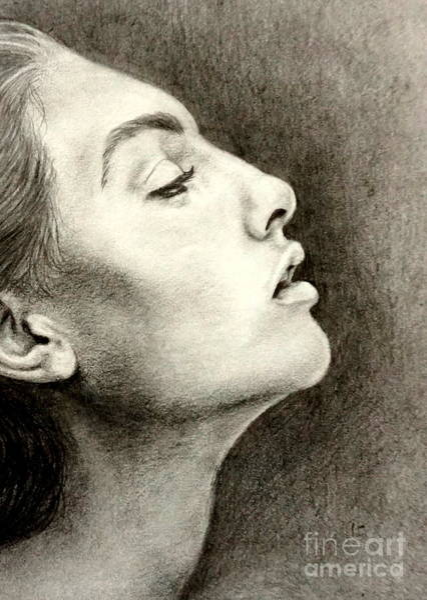 Drawing - Breathless by Georgia's Art Brush