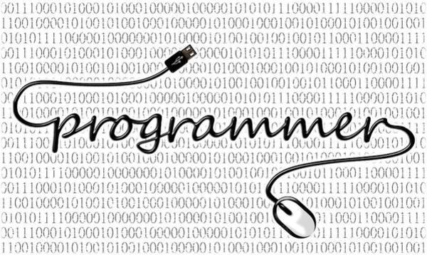 Mixed Media - Programmer by Anastasiya Malakhova