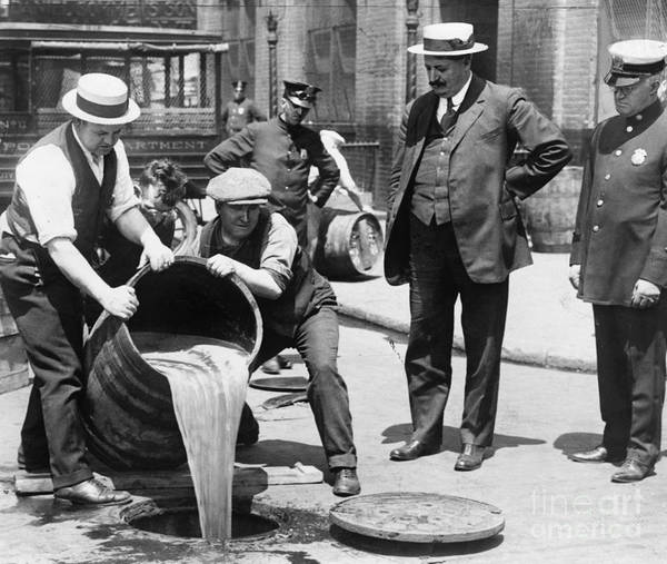 1921 Wall Art - Photograph - Prohibition, C1921 by Granger