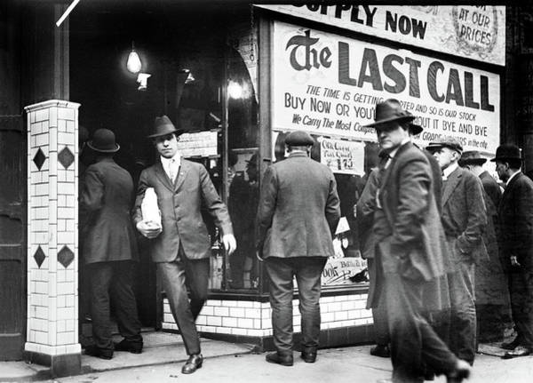Photograph - Prohibition - The Last Call by Bill Cannon
