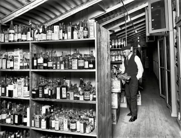 Wall Art - Photograph - Prohibition Treasury Dept Lab 1920s by Daniel Hagerman
