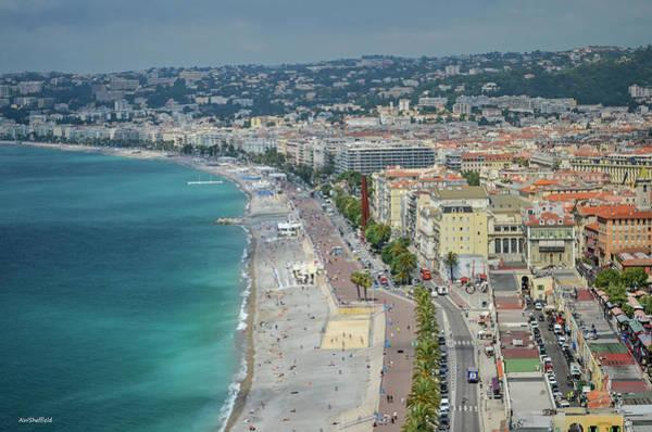 Photograph - Promenade Des Anglais - Nice, France by Allen Sheffield