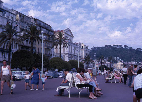 Photograph - Promenade Des Anglais, Nice, France by Richard Goldman