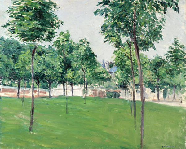 Painting - Promenade Of Argenteuil by Gustave Caillebotte
