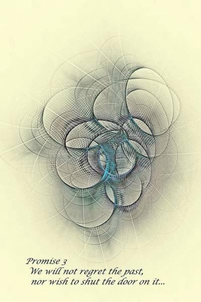 Digital Art - Promise 3 No Regrets by Doug Morgan