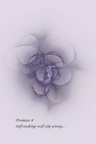 Digital Art - Promise 8  Self Seeking Slips Away by Doug Morgan