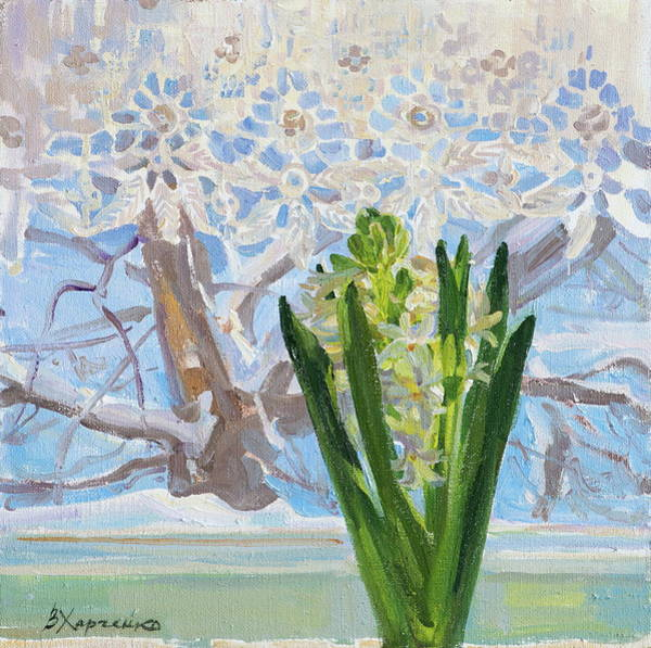 Wall Art - Painting - Promise Of Spring by Victoria Kharchenko
