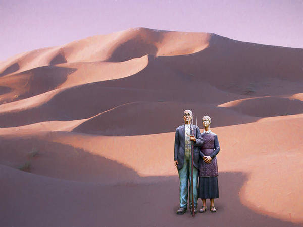 Dune Mixed Media - Promised Land by Dominic Piperata