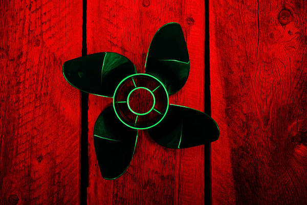 Photograph - Prop With A Green Glow by David Andersen