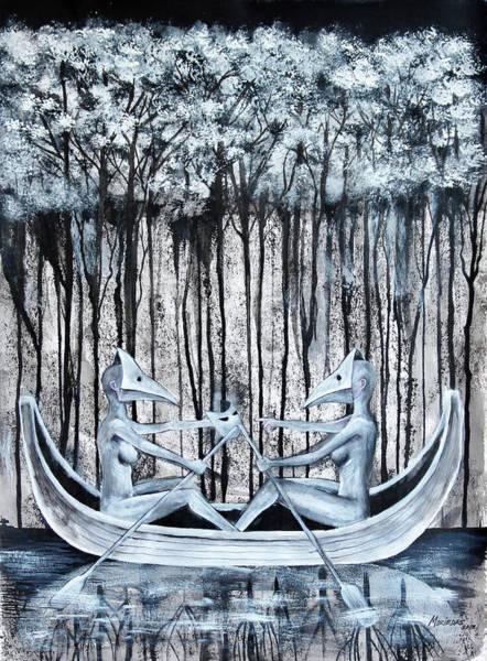 Painting - Proposicion Al Desacuerdo by Lorenzo Muriedas