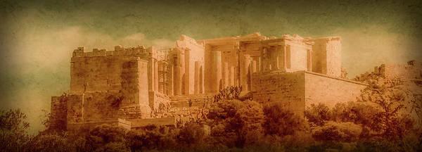 Photograph - Athens, Greece - Propylaia by Mark Forte