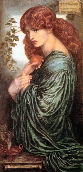Painting - Proserpine 1881 by Dante Gabriel Rossetti Joy of Life Old Masters Gallery