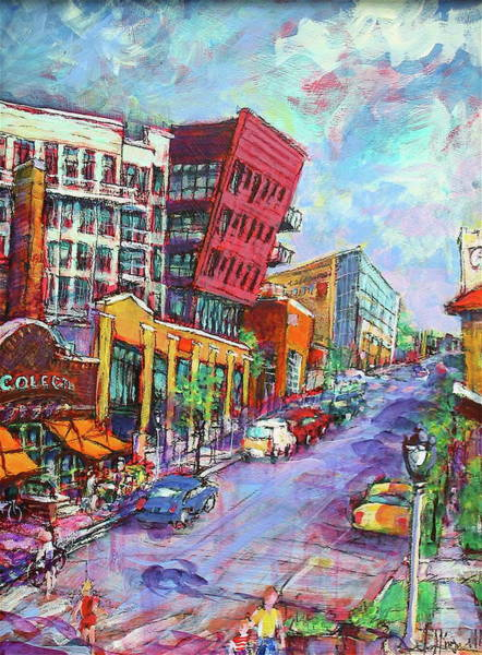 Painting - Prospect Perspective by Les Leffingwell