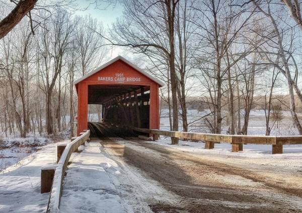 Photograph - Protected Crossing In Winter by Andrea Platt