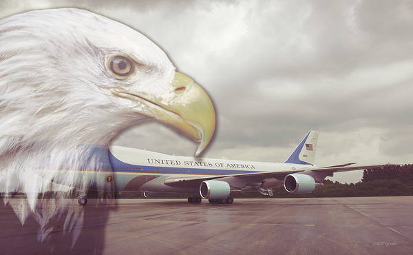 Photograph - Protecting Air Force One by Ericamaxine Price