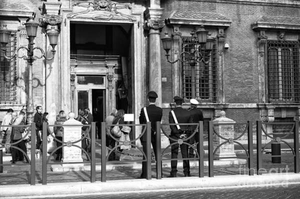 Photograph - Protecting Rome by John Rizzuto