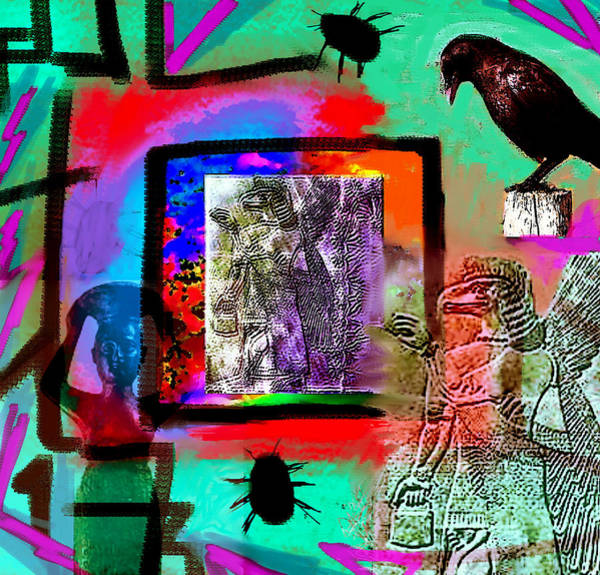 Painting - Proto-dream Genesis  by Paul Sutcliffe
