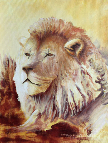 Painting - Proud by Todd Blanchard