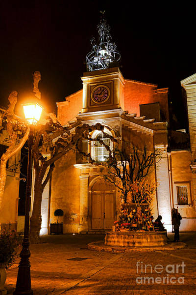 Wall Art - Photograph - Provencal Night by Olivier Le Queinec