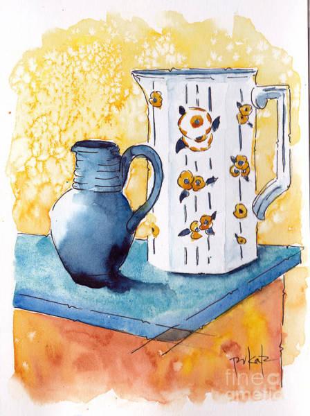 Painting - Provencale Pichets No 1 by Pat Katz