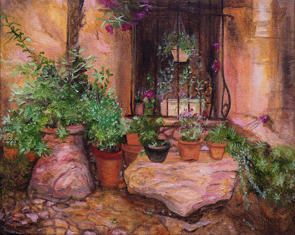 Painting - Provence by Kathy Knopp