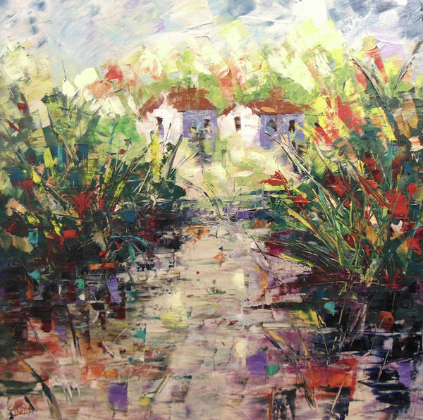 Painting - Provence Lke by Frederic Payet