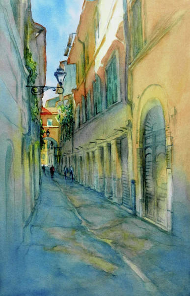 Provence Painting - Provence Walk No 3 by Virgil Carter