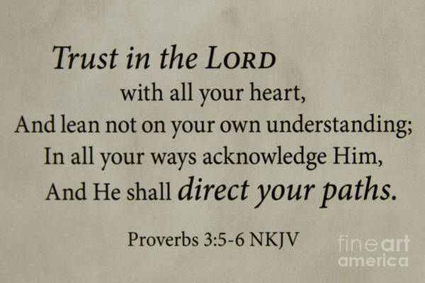 Proverb Photograph - Words Of Life 8 Holy Bible Scripture Art  by Reid Callaway