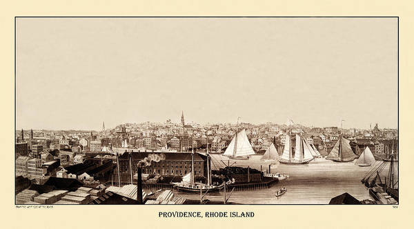 Photograph - Providence 1858 by Andrew Fare