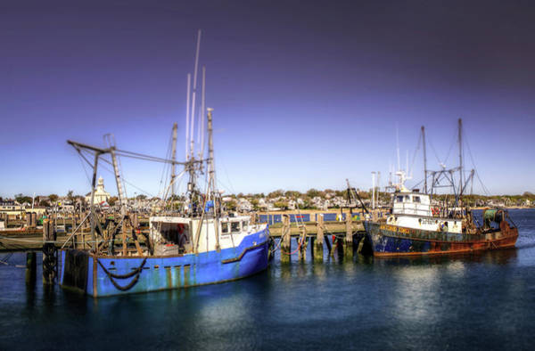 Provincetown Harbor Photograph - Provincetown Boats by Vicki Jauron