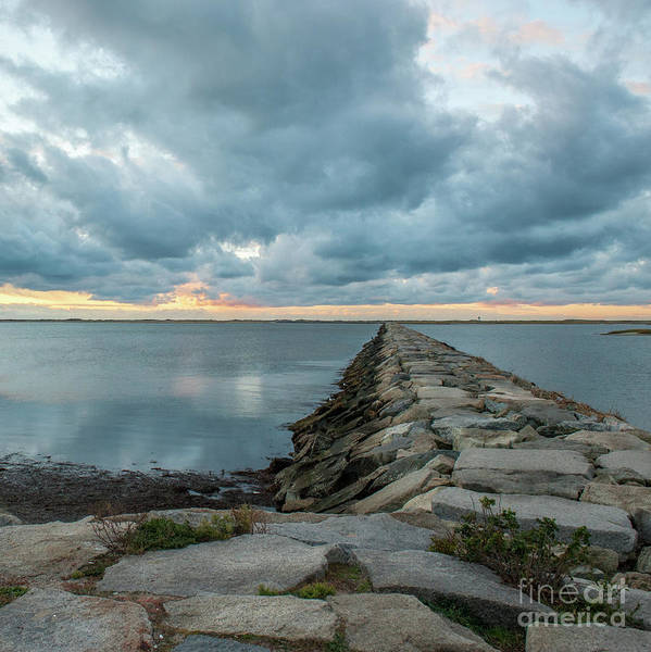 Photograph - Provincetown Breakwater #3 by Michael James