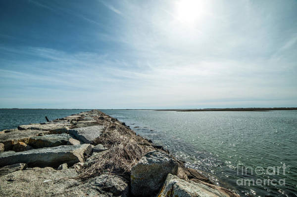 Photograph - Provincetown Breakwater by Michael James