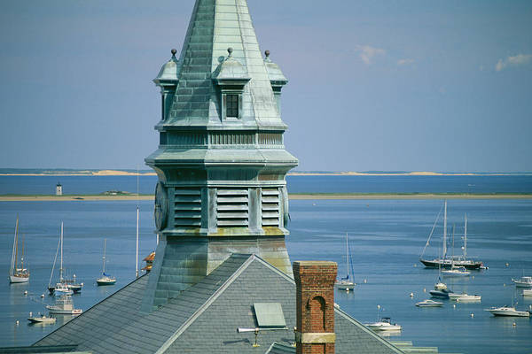 Provincetown Harbor Photograph - Provincetown Harbor With Town Hall by Michael Melford