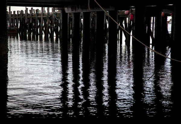 Wall Art - Photograph - Provincetown Wharf Reflections by Charles Harden