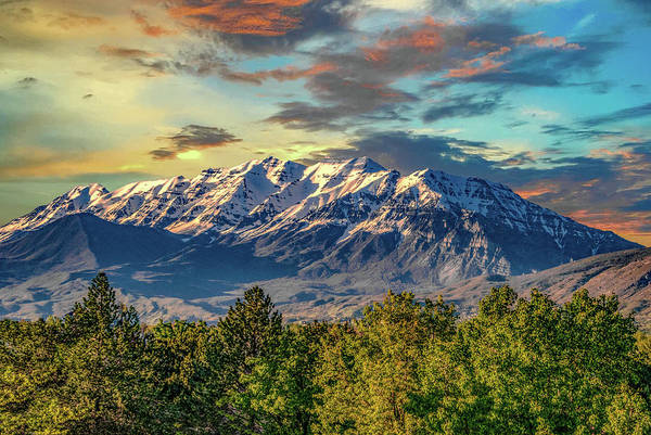 Photograph - Provo Peaks by Gaylon Yancy