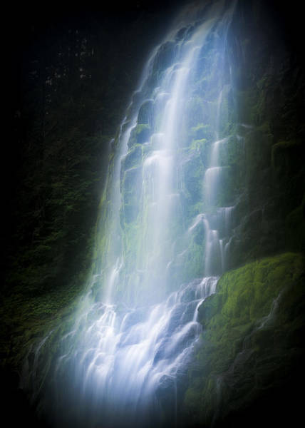 Photograph - Proxy Falls by Robert Potts