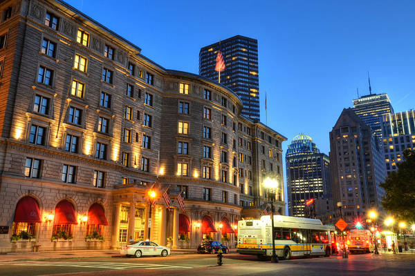 Photograph - Prudential Fairmont Copley Plaza Boston Ma by Toby McGuire