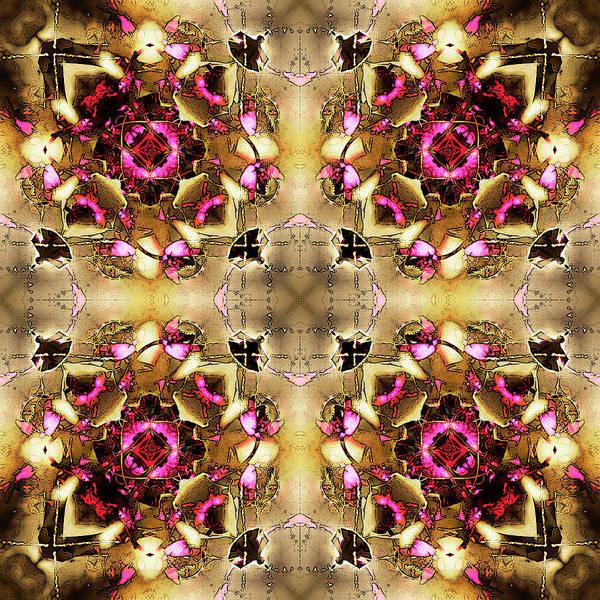 Digital Art - Prunus Quadrant by Frans Blok
