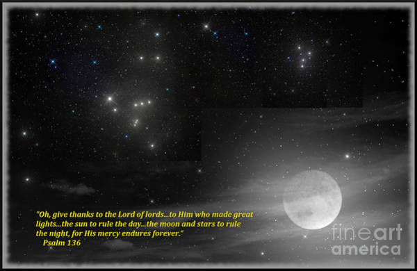 Digital Art - Psalm 136 by Charles Robinson