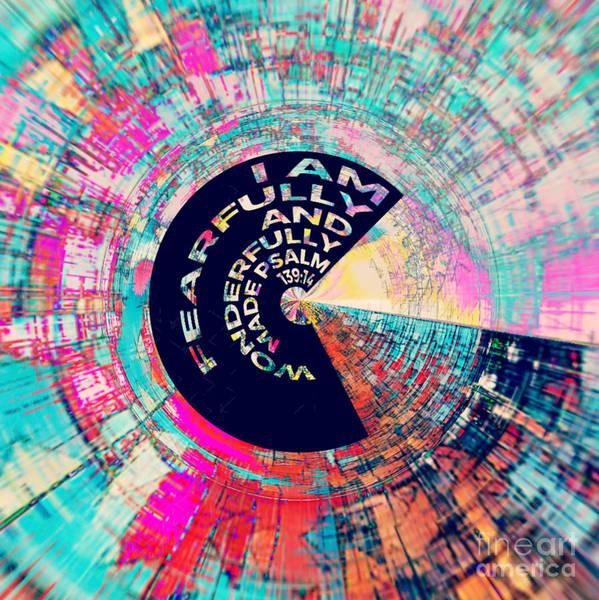 Digital Art - Psalm 139 by Jessica Eli