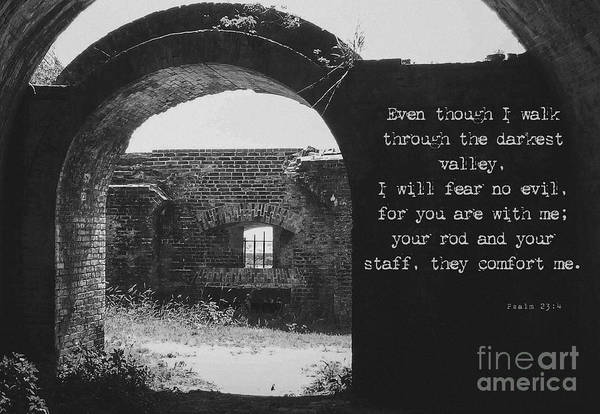 Photograph - Psalm 23 4 by Andrea Anderegg