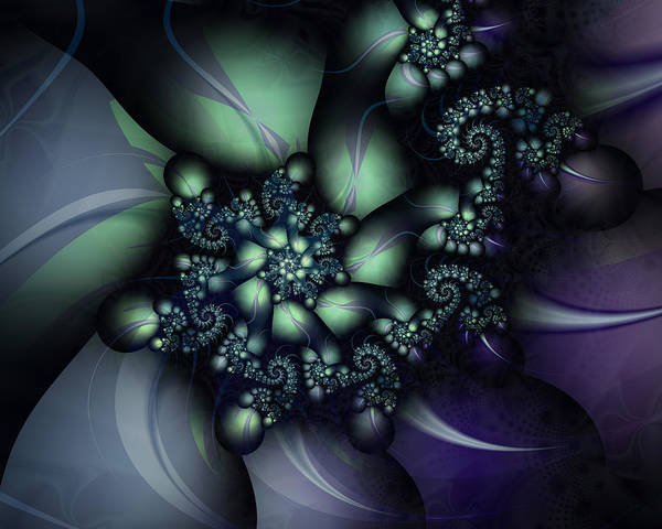 Wall Art - Digital Art - Psilocybin by David April