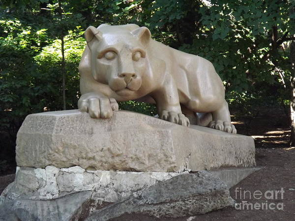 College Baseball Photograph - Psu Nittany Lion by Chad Thompson