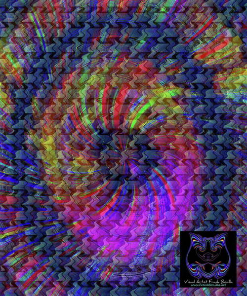 Digital Art - Psyche by Visual Artist Frank Bonilla