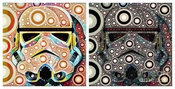 Psychedelic Binom Art Print