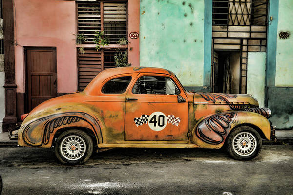 Photograph - Psychedelic Cuba by Mary Buck