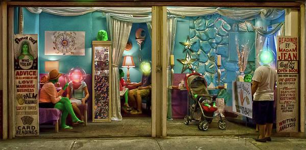 Palm Reading Wall Art - Digital Art - Psychic Readings by Rick Mosher