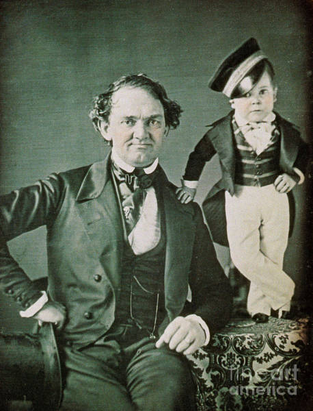 Notable Photograph - P.t. Barnum, American Showman by Photo Researchers